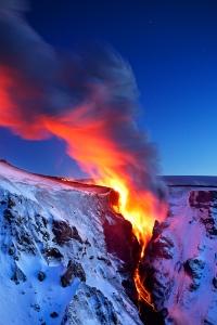 Ηφαίστιο στου πάγους