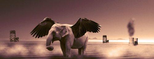 ιπτάμενος ελέφαντας