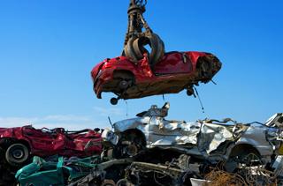 νεκροταφείο αυτοκινήτων