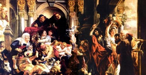 Ο Ιησούς με το φραγγέλιο