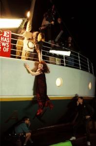 Εικόνα από τα γυρίσματα του Τιτανικού