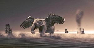 Εικόνα Ιπτάμενος Ελέφαντας